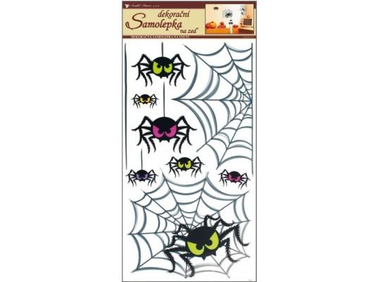 Samolepka na zeď-pavouci