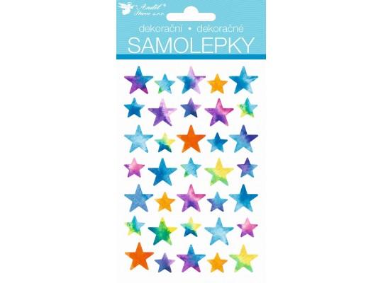 Samolepky-hvězdy