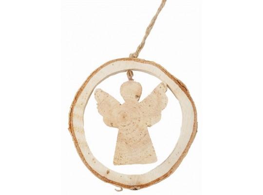Ozdoba ze dřeva-anděl
