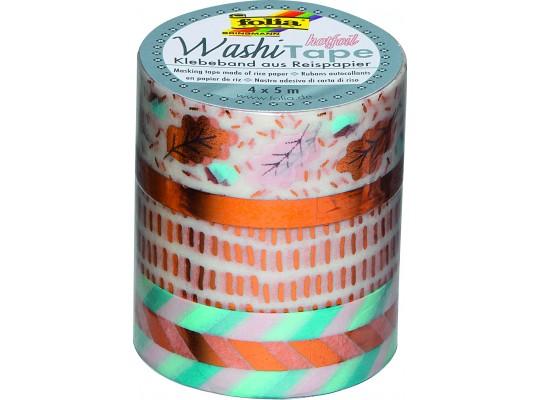 Páska dekorační Washi Tape Hotfoil-sada 2