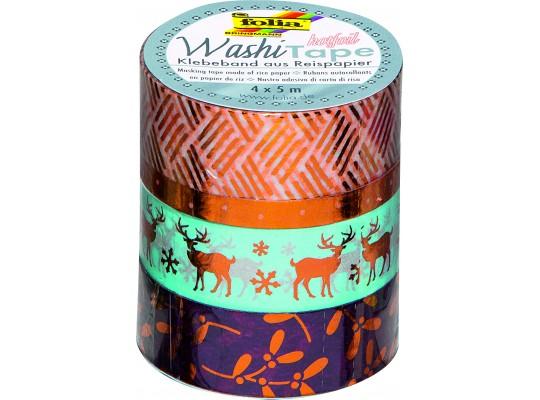 Páska dekorační Washi Tape Hotfoil-sada 3