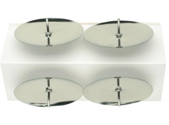 Bodec na svíčku stříbrný-5cm