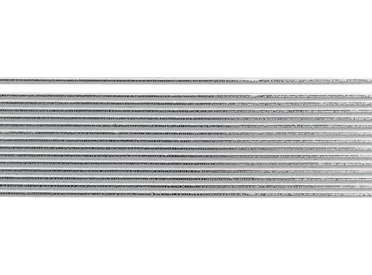Plát voskový-0,3x20cm-stříbrný-proužky