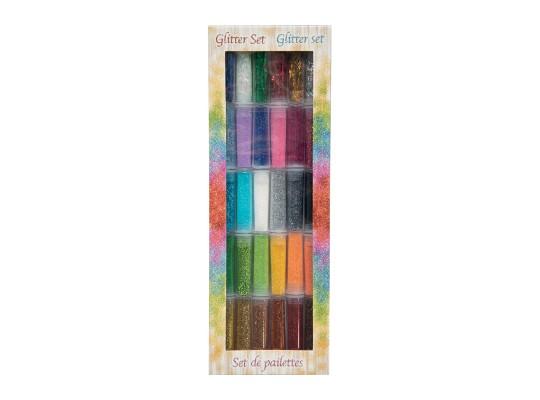 Glitry-sada barev