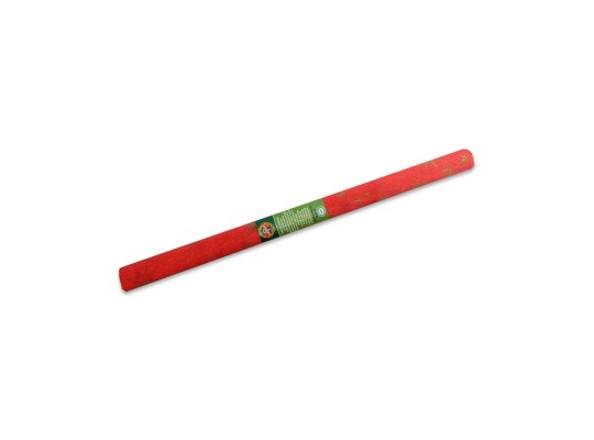 Papír krepový-200x50cm-červený/hvězdy zlaté