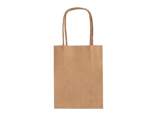 Taška z papíru přírodní-malá