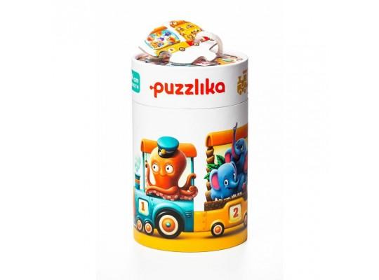 Puzzlika-puzzle naučné-Vlak