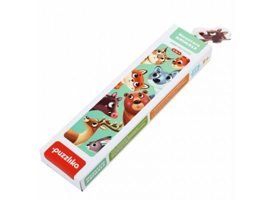 Puzzlika-puzzle naučné-Zvířátka lesní