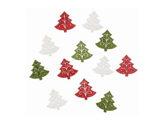 Stromky vánoční dřevěné