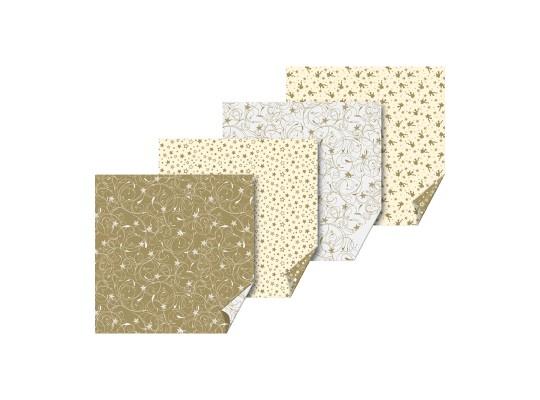 Papír na skládání-origami-anděl/hvězda