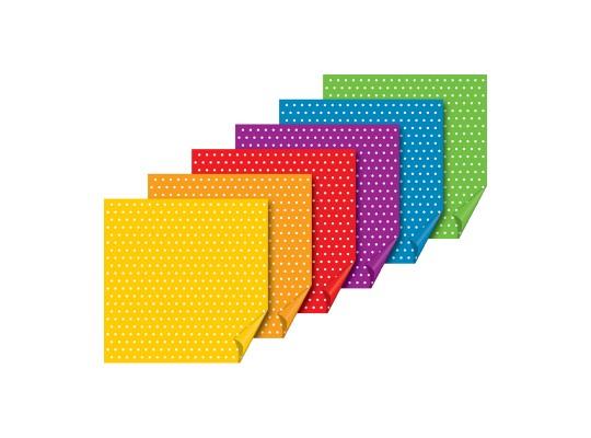 Papír na skládání-origami-puntíky