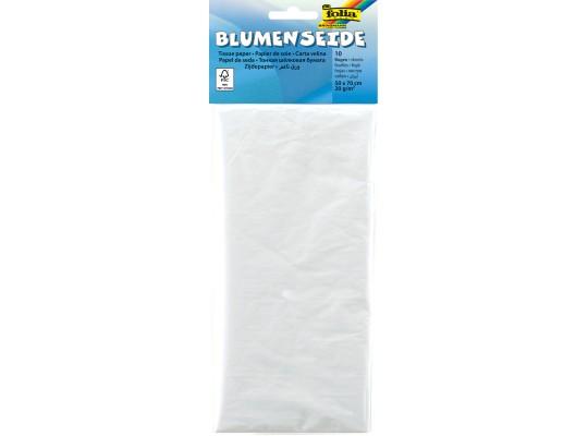 Papír hedvábný 50x70cm-bílý-20g/m2