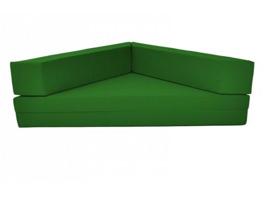 Relaxační sedací kout rozkládací Ramon-tmavě zelená