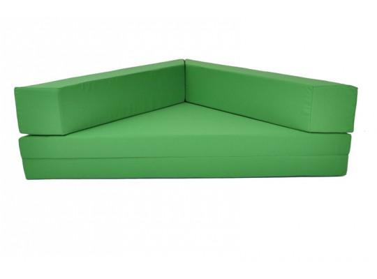 Relaxační sedací kout rozkládací Ramon-světle zelená