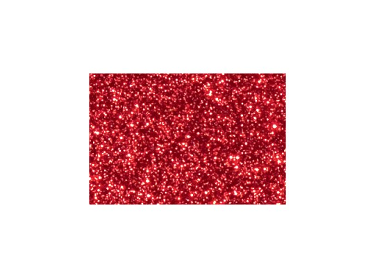 Pěnovka moosgummi samolepicí třpytivá-archy-červená
