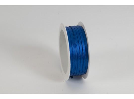 Stuha atlasová-modrá