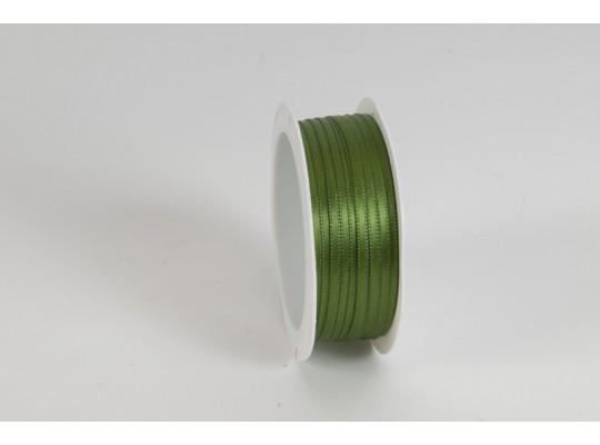 Stuha atlasová-zelená