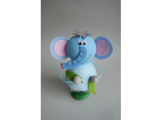Sada kreativní vatová-slon