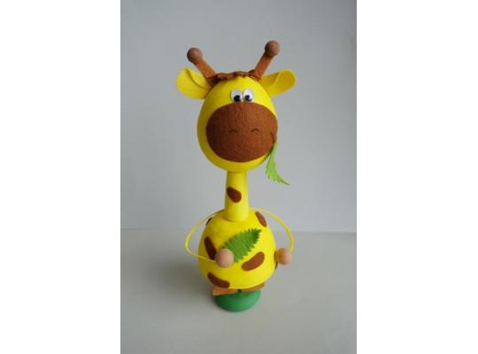 Sada kreativní vatová-žirafa