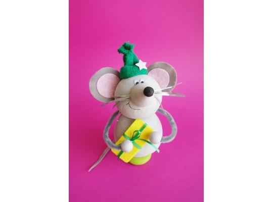 Sada kreativní vatová-myš