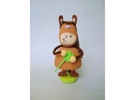 Sada kreativní vatová-kůň