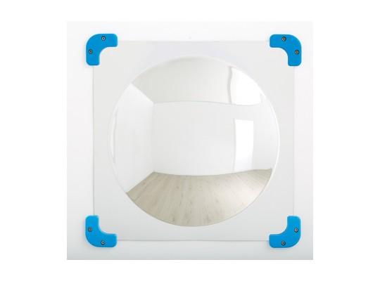 Zrcadlo konvexní-1 zakřivení-49x49cm