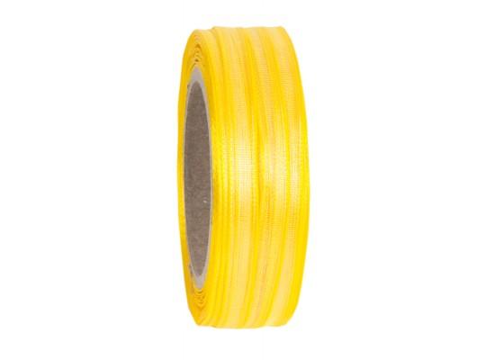 Stuha dekorační-monofilová-žlutá