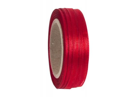 Stuha  dekorační-monofilová-červená