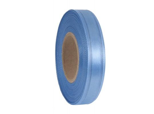Stuha dekorační-monofilová-modrá-vlasec-pruh atlasový
