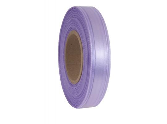 Stuha dekorační-monofilová-fialová světlá-vlasec-pruh atlasový