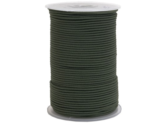Guma-pruženka-kulatá-klobouková-khaki-2mm