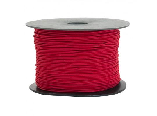 Guma-pruženka-kulatá-klobouková-červená-1,6mm