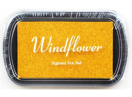 Polštářek razítkovací Windflower-zlatá