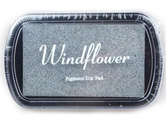 Polštářek razítkovací Windflower-stříbrná