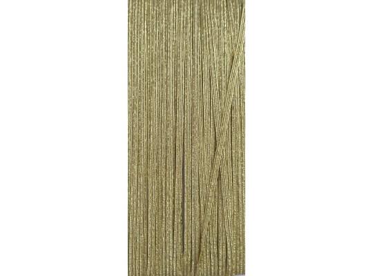Guma-pruženka-plochá-zlatá-3mm