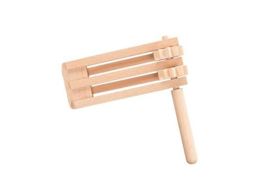 Řehtačka dřevěná-dvojitá