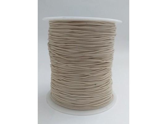 Guma-pruženka-kulatá-klobouková-krémová-1mm