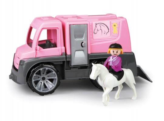 Auto dětské-Truxx-transport koňský s příslušenstvím