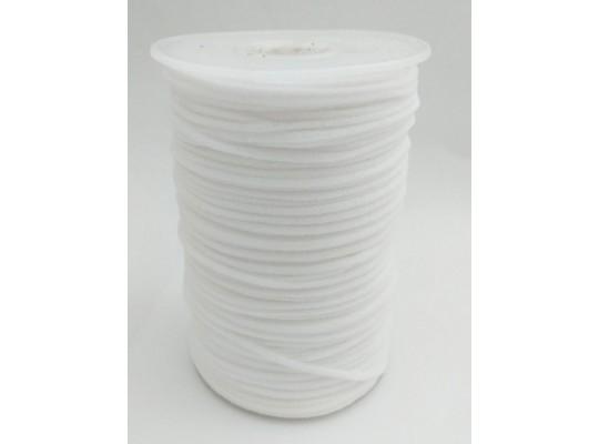 Guma-pruženka-kulatá-medical-bílá-3mm