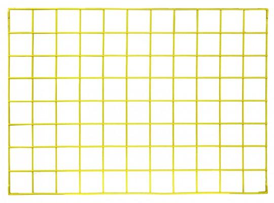 Síť drátěná-110x80cm-nástěnka dekorační-žlutá