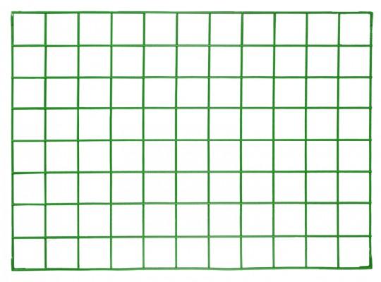 Síť drátěná-110x80cm-nástěnka dekorační-zelená