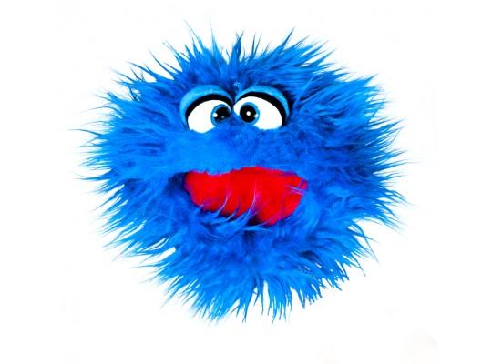 Maňásek-na ruku-Living Puppets-Jabberwalky-modrý