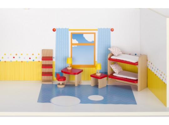 Nábytek do domečku-pokoj dětský