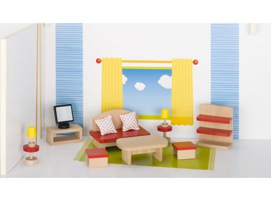 Nábytek do domečku-pokoj obývací