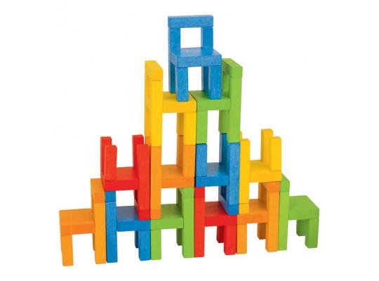 Hra dřevěná balanční-s židličkami