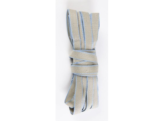 Tkaloun-keprovka-10mm-khaki/modrá světlá