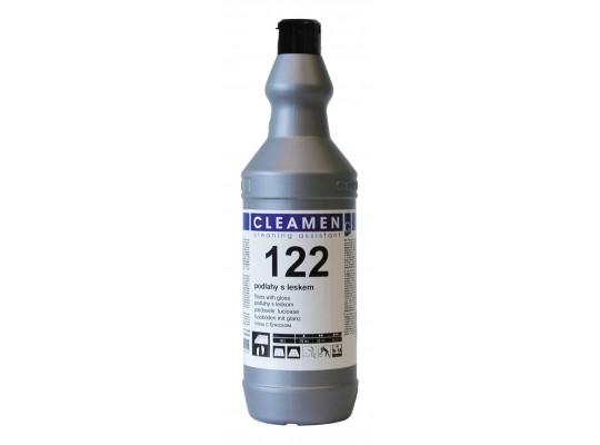 Prostředek čisticí a mycí-Cleamen 122-podlahy s leskem
