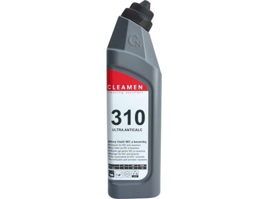 WC čistič-Cleamen 310-keramika-kyselý
