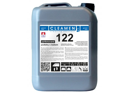 Prostředek čisticí a mycí-Cleamen 122-podlahy s leskem-kanystr