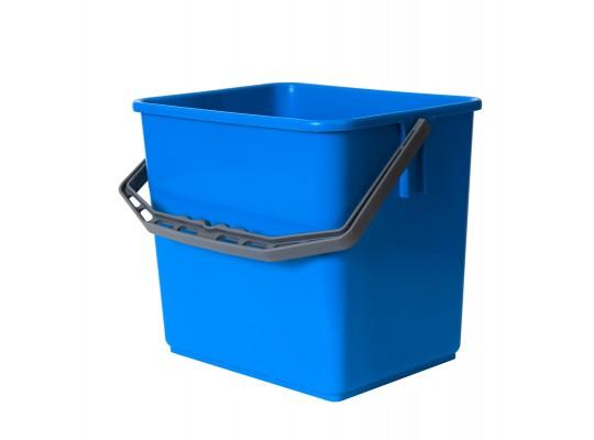 Kbelík plastový-modrý-6l